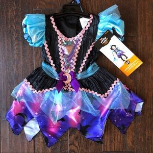 Toddler Moonlight Witch Halloween Costume